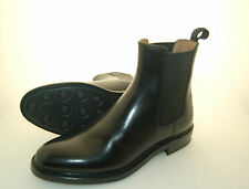 MAN - 41 - 7eu - CHELSEA BOOT - CALF BLACK - VITELLO NERO - DAINITE RUBBER SOLE