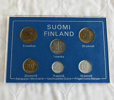 FINLAND 1983 6 COIN UNCIRCULATED MINT SET - cased