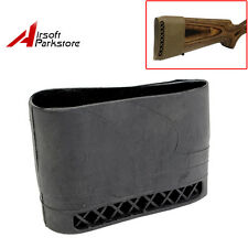 Hunting Gun Rifle Recoil Pad Rubber Slip On Recoil Pad Shotgun Shooting Black