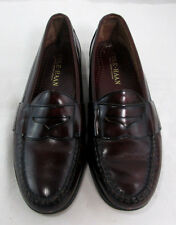 """Men's Cole-Haan Penny Loafers Burgundy Size 9.5"""""""