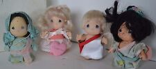 Vintage Precious Moments Doll Mini Miniature Lot 5 Cupid Valentine Japan