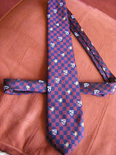 Vintage 60's or 70's British Aeronautica Pilot's Tie with Various Airline Logos