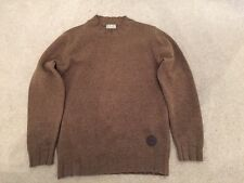 Barbour marron laine pull taille s