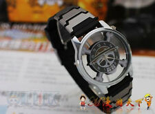 New ONE PIECE MONKEY D LUFFY Pirate Skull Flag Wrist Watch Cosplay Anime Gift