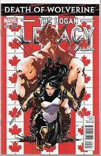DEATH OF WOLVERINE: THE LOGAN LEGACY #2 CANADA VARIANT X-23 COVER NM+