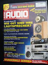 AUDIO 1/05 B & W NAUTILUS 802 D,MARANTZ TT 15 S1,SANYO PLV Z 3,SONY DVP NS 955 V