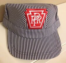 Engineer/Conductor Cap /Hat -PENNSYLVANIA (PRR)- adjustable -Adult or Child-NEW