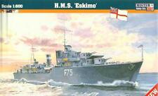 Hms eskimo/hms somali-ww ii royal navy destroyer 1/600 MISTERCRAFT
