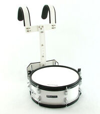 "Trixon Field Series Scholastic Marching Snare 14 by 5.5"" White"