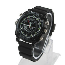 Waterproof Spy Hidden Camera DVR Recorder Watch Pinhole DV Cam 8GB Night Vision