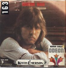 "KEITH EMERSON - Maple leaf rag - VINYL 7"" 45 LP ITALY 1977 VG+ COVER VG-"