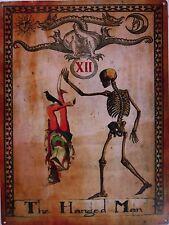 The Hanged Man Tarot Card Xll Metal Sign