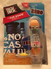 Tech Deck Skateboards TD Fun Shape Series 2 Zero # 1/8 - No Cash Value Zero -