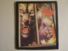 Hirax - The New Age Of Terror Sublimated Patch SLAYER TESTAMENT ATROCITY ATROPHY