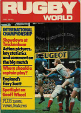 RUGBY WORLD MAGAZINE APRIL 1981 - PERFECT GIFT FOR A FAN BORN IN THIS MONTH