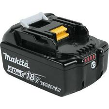 Makita BL1840B 18-Volt 4.0Ah Rechargeable LXT Lithium-Ion Battery with Indicator