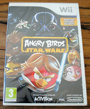 Jeu ANGRY BIRDS STAR WARS pour Nintendo Wii PAL NEUF SOUS BLISTER !