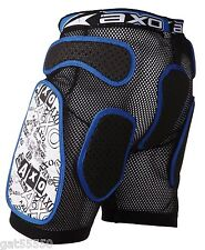 AXO ROCK PADDED IMPACT SHORTS MOTOCROSS ENDURO MTB DH ARMOUR PANTS PROTECTOR CRF