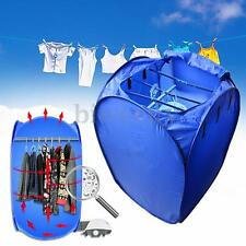 Portable Hot Air Clothes Fast Dryer Electric Drying Machine Indoor Dorms Hanger