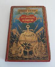 Jules Verne Un Capitaine de quinze ans HETZEL 1ère édition