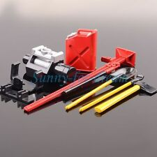 Winch Shovel Oiler Jack Hatchet  FOR Red 1:10 RC SCX10 CC01 AX10 Rock Crawler