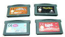 Nintendo Gameboy Advance Games x 4 - Used - Cartridge Only No Case