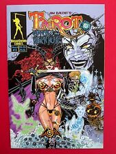 TAROT WITCH OF THE BLACK ROSE #1 (VFNM) JIM BALENT HOLLY HTF 1st print! 2000