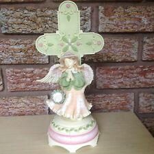 "Angels Among Us 10.5""Tall Musical Angel Figurine BLESSINGS by Betty Singer"