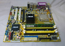ASUS psl-bm1394 REV 1.00 Socket 775 SCHEDA MADRE CON CORE 2 DUO & 1gb RAM