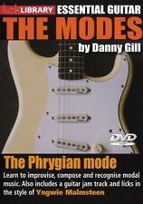 Lick Library THE PHRYGIAN MODE Video DVD Guitar Lesson Satriani With Danny Gill