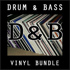Drum & Bass Bargain Bundle 10 x Vinyl Records Playaz V Bingo Viper DOA JOB LOT