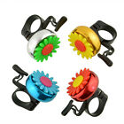 Cuty Flower Bike Bicycle Handlebar Ring Horn Sound Bell Alarm Metal Safety NEW