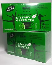 6 boxes Royal King Extra Strength Diet Green Tea  (18 tea bag 1.09oz each box )