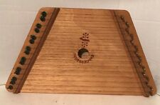 The Music Maker Lap Harp / Dulcimer Musical Instrument Made By Nepenenoyka