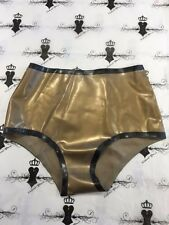 R1612 Rubber Latex HIGH PANTIE PINUP BURLESQUE  *Shown* SMALL