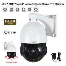 SONY CMOS 20x ZOOM HD 1920*1080P 2.0MP Outdoor PTZ IP Dome CCTV Camera Onvif