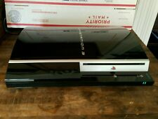 Sony PlayStation 3 Launch Edition 40 GB Piano Black Console (CECH-G01)