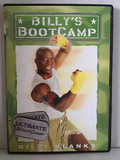 BILLY BLANKS ~ BILLY'S BOOT CAMP ~ ULTIMATE BOOTCAMP ~ NEW DVD~FREE POST