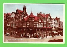 Vintage postcard, The Cross, Chester. 1950s