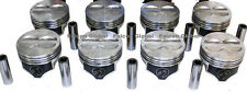 "Speed Pro Chevy 400 Hypereutectic Coated Flat Top Pistons Set/8 for 5.7"" rod +30"