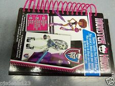 NEW Monster High Fashion Mini Sketch Sticker Book W Markers FREE Ship!!