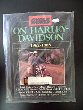 On Harley-Davidson - Cycle World - 1962/ 1968 - New Model Reports