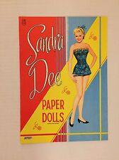 VINTAGE Paper Doll - Sandra Dee - Saalfield