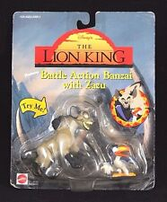 Vintage Battle Action Banzai with Zazu - Disney The Lion King - Mattel - In Box