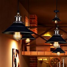 Retro Industrial Edison Simplicity Pendant Light Antique Old Factory Style Lamps