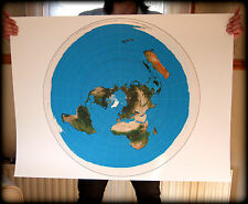 FLAT EARTH - The AZIMUTHAL EQUIDISTANT PROJECTION USGS Azimuth Radar/Radio Map