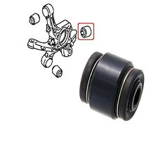 REAR ASSY KNUCKLE ARM BUSH FOR DODGE CALIBER MITSUBISHI ECLIPSE LANCER OUTLANDER