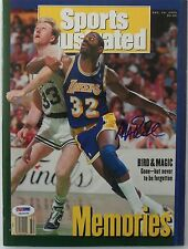 MAGIC JOHNSON Signed Dec. 14, 1992 Sports Illustrated Magazine - PSA ITP