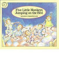 Five Little Monkeys Jumping on the Bed by Houghton Mifflin (Paperback, 1995)