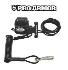 Pro Armor Handlebar Mount Tether Switch KTM Artic Cat Snowmobile Kill Lanyard MX